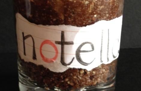 Notella - raw hazelnut spread